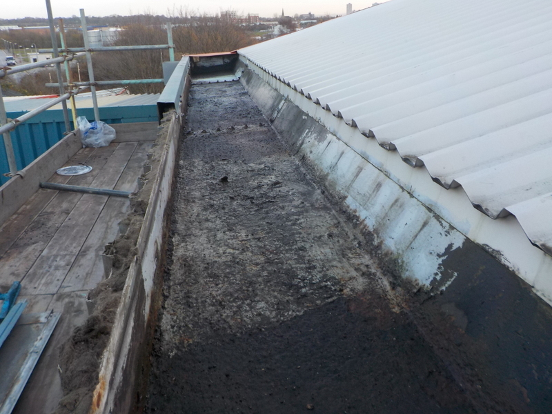 industrial-unit-midlands-gutter-before